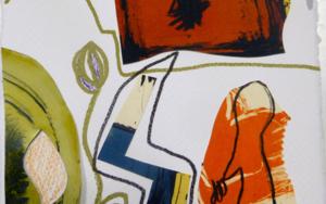 caminante 1|DibujodeSílvia Colomina| Compra arte en Flecha.es