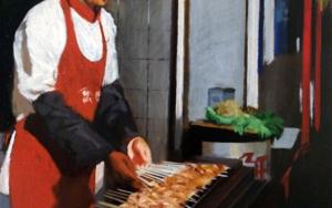 鱿⻥鱼 (Calamares)|PinturadePablo Colomo| Compra arte en Flecha.es