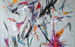 Título: Midnight Blues|PinturadeValeriano Cortázar| Compra arte en Flecha.es