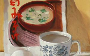 Sopa de miso|PinturadeIgnacio Mateos| Compra arte en Flecha.es