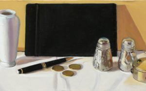 Bodegón del I Ching|PinturadeIgnacio Mateos| Compra arte en Flecha.es