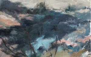 Después del incendio.|PinturadeCostanza L. Schlichting| Compra arte en Flecha.es