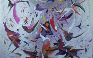 Un bel dì vedremo - Madame Butterfly de Giacomo Puccini|PinturadeValeriano Cortázar| Compra arte en Flecha.es