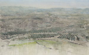 Cerros de Úbeda PinturadeJosé Luis Romero  Compra arte en Flecha.es