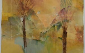 Bañado por el atardecer|PinturadeLuis Kerch| Compra arte en Flecha.es