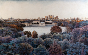 All London Over Greenwich Meridian|FotografíadeCarlos Arriaga| Compra arte en Flecha.es