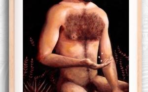 Solo (autorretrato)|PinturadeBran Sólo| Compra arte en Flecha.es