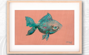Poisson d'avril I|PinturadeBran Sólo| Compra arte en Flecha.es