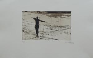Pescadores de Bagamoyo n 4|Obra gráficadeCalo Carratalá| Compra arte en Flecha.es