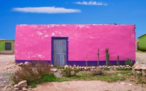 Blue door #03, Puno, Peru|FotografíadeAndy Sotiriou| Compra arte en Flecha.es