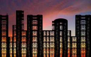 Steel & Glass|DigitaldeAndy Sotiriou| Compra arte en Flecha.es