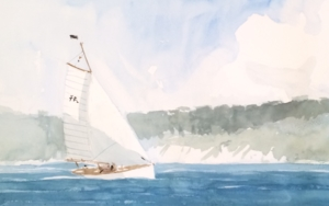 Costa de Capdepera|PinturadeIñigo Lizarraga| Compra arte en Flecha.es
