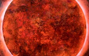 Cosmos|PinturadeCarmen Montero| Compra arte en Flecha.es