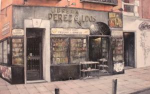 Librería Pérez Galdós-Madrid|PinturadeTOMAS CASTAÑO| Compra arte en Flecha.es