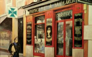 Farmacia Ldo. A. Saiz-Madrid|PinturadeTOMAS CASTAÑO| Compra arte en Flecha.es