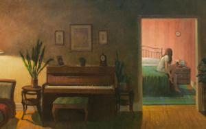 Momento íntimo|PinturadeOrrite| Compra arte en Flecha.es