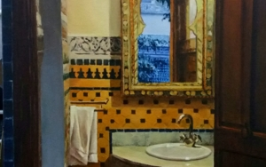 Baño en FEZ|PinturadeCarmen Nieto| Compra arte en Flecha.es