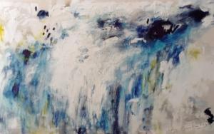 Paisaje Celeste I|PinturadeEdurne Gorrotxategi| Compra arte en Flecha.es
