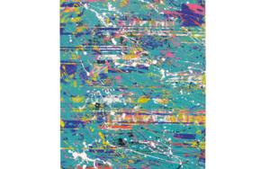 Green Interferences|PinturadeAna Dévora| Compra arte en Flecha.es