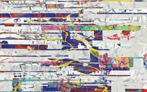 Vertical Glitch|PinturadeAna Dévora| Compra arte en Flecha.es