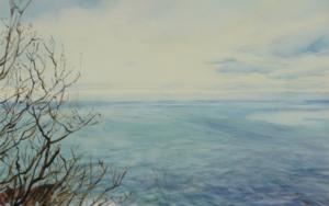 Urgull en invierno|PinturadeIgnacio Mateos| Compra arte en Flecha.es