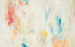 Abstracción con verde|PinturadeSusana Sancho| Compra arte en Flecha.es