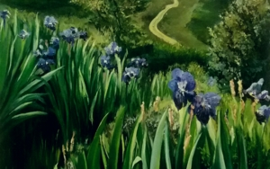 Naturaleza-lirios|PinturadeCarmen Nieto| Compra arte en Flecha.es