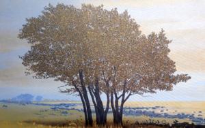 En la orilla|PinturadeCharlotte Adde| Compra arte en Flecha.es