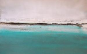 Reflejando un mar azul y profundo|PinturadeEsther Porta| Compra arte en Flecha.es