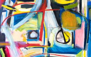 Arquetipo de retrato, abstracción 07 2019 gran formato|PinturadeMaciej Cieśla| Compra arte en Flecha.es
