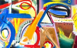 Retrato, forma, color y abstracción.|PinturadeMaciej Cieśla| Compra arte en Flecha.es