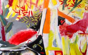 Caminar con el perro. Expresionismo|PinturadeMaciej Cieśla| Compra arte en Flecha.es