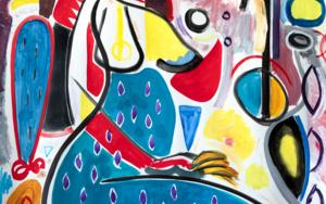 Niña y demonios|PinturadeMaciej Cieśla| Compra arte en Flecha.es