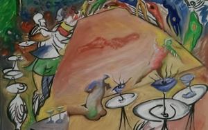 Keine Tanzerinnen PinturadeGabriel José Vale  Compra arte en Flecha.es