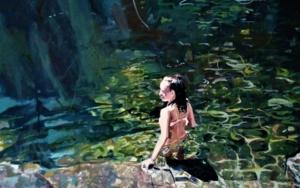 En el agua|PinturadeAmaya Fernández Fariza| Compra arte en Flecha.es