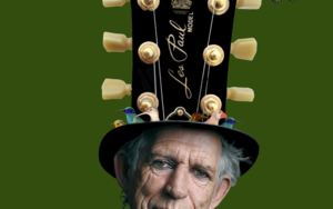 Keith Richards|CollagedeGabriel Aranguren| Compra arte en Flecha.es