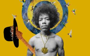 Jimi Hendrix|CollagedeGabriel Aranguren| Compra arte en Flecha.es