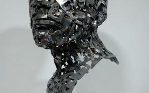 CABEZA UZZ-387|EsculturadePablo Rebollo Pérez| Compra arte en Flecha.es