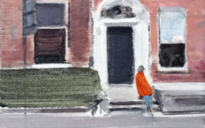 Door in O'Connel street|PinturadeSaracho| Compra arte en Flecha.es