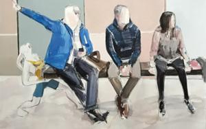 Follow me|PinturadeSaracho| Compra arte en Flecha.es