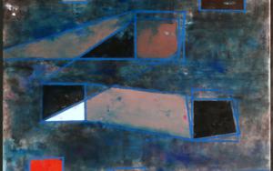 Geometric constellation PinturadeLuis Medina  Compra arte en Flecha.es