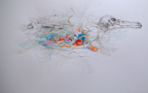 Colorful plastic|DibujodeLeticia Gaspar| Compra arte en Flecha.es