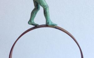 Balance|EsculturadeCharlotte Adde| Compra arte en Flecha.es