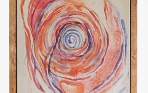 Vortex de Transformación. Dejando que todo fluya a través de mi. Y de ti.|PinturadeCarmen Ceniga Prado| Compra arte en Flecha.es