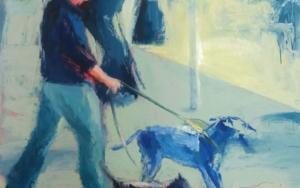 El paseo|PinturadePilar Álvarez| Compra arte en Flecha.es