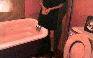 Baño Rosa|PinturadePablo Colomo| Compra arte en Flecha.es
