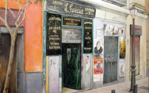 Fontanería E.Garcia-Madrid|PinturadeTOMAS CASTAÑO| Compra arte en Flecha.es