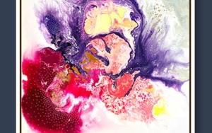 COSMIC PUNCH|PinturadeKAI NANSHE| Compra arte en Flecha.es