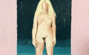 Retrato Nocturno III|PinturadePablo Colomo| Compra arte en Flecha.es
