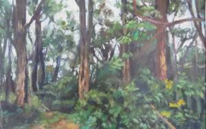 serie de bosques , los Apalaches Pinturadejose luis fernandez sanchez  Compra arte en Flecha.es